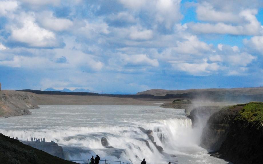 veduta della cascata