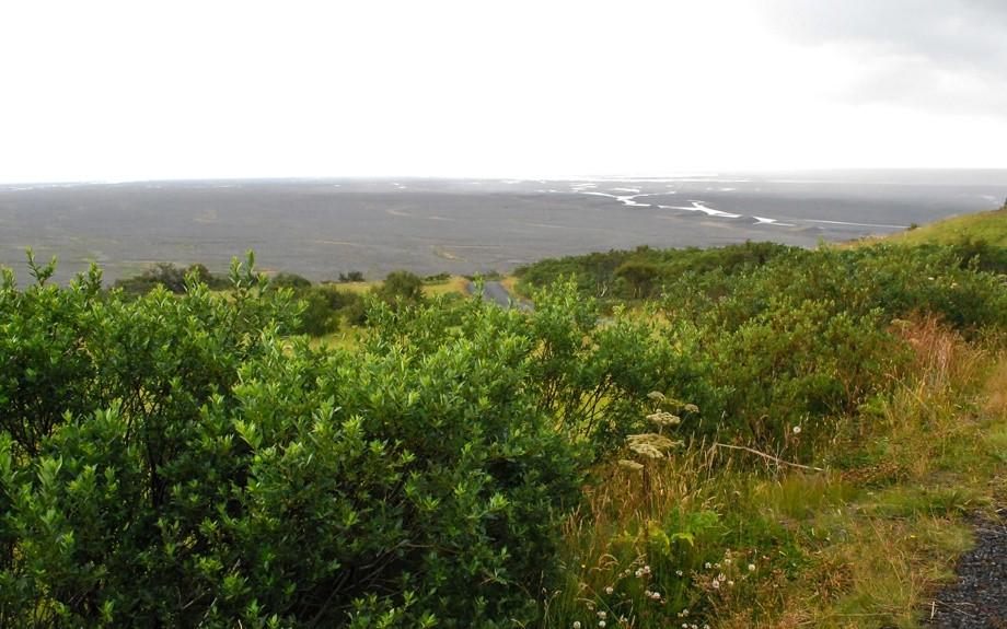 veduta del parco di Skaftafell