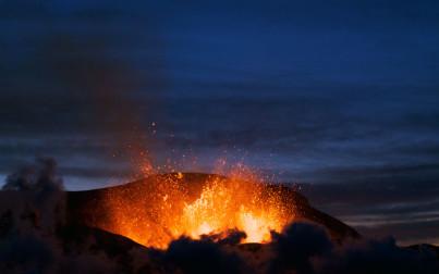 Vulcano Eyjafjoll