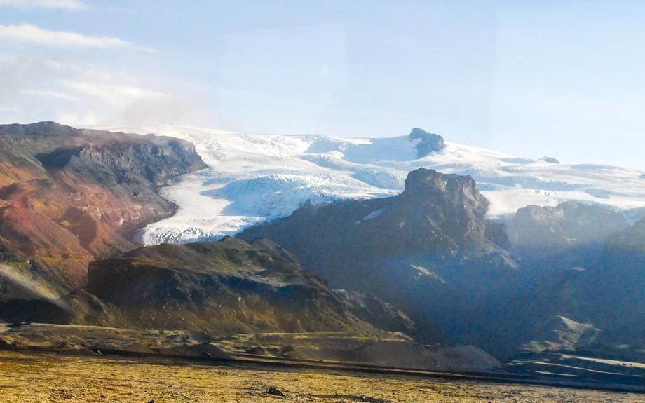 un vulcano islandese